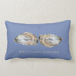 Dual Oyster Lumbar Pillow - Design A Dual Blue