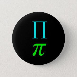 Dual Pi Symbol (Button) 2 Inch Round Button
