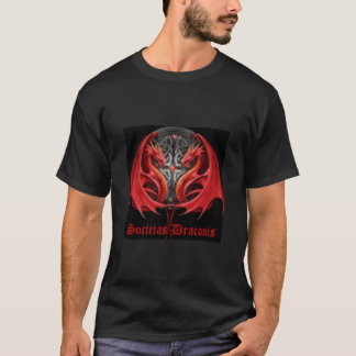 dual red dragons T-Shirt
