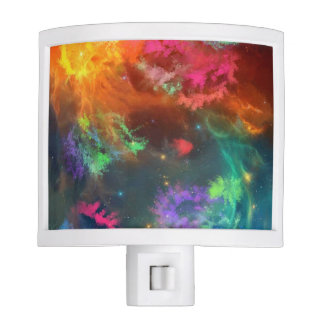 Dual-toned Nebula Nightlight Night Lites