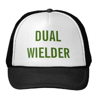 """Dual Wielder"" Funny Trucker Hat | Gamer Cap"