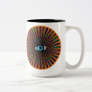 Duality and All Seeing Eye Mug
