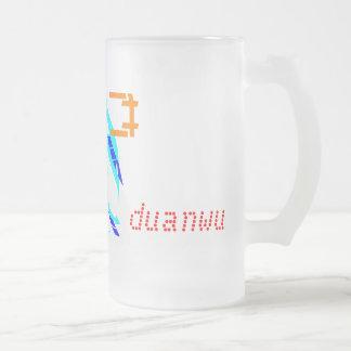 Duanwu - Dragon boat festival 16 Oz Frosted Glass Beer Mug