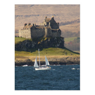 Duart Castle Scotland Postcard