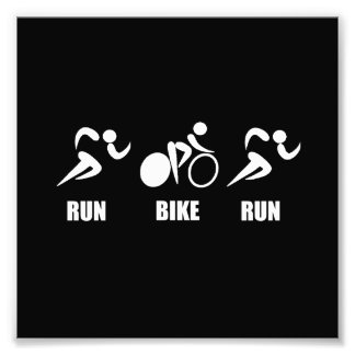 Duathlon Run Bike Run Photo