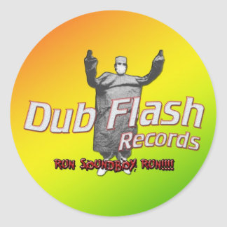 Dub Flash Sticker