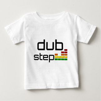 Dub Step Music with Stereo Equalizer Baby T-Shirt