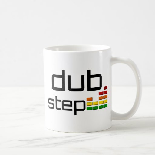 Dub Step Music with Stereo Equalizer Coffee Mug