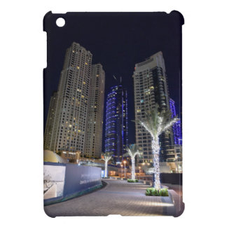 Dubai architecture at night cover for the iPad mini