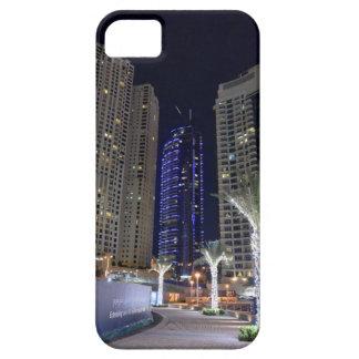 Dubai architecture at night iPhone 5 cover