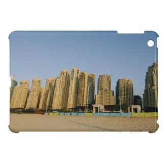 Dubai beach skyscrapers iPad mini case