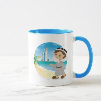 Dubai boy mug