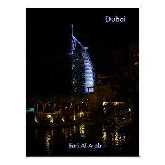 Dubai, Burj Al Arab Postcard