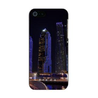 Dubai Cayan Tower at night Incipio Feather® Shine iPhone 5 Case