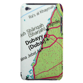 Dubai City Map iPod Case-Mate Case