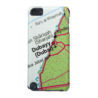 Dubai City Map iPod Touch (5th Generation) Cases