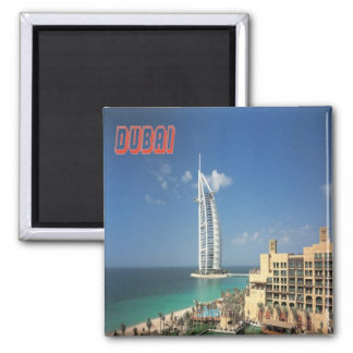Dubai City UAE  Fridge Magnet Souvenir