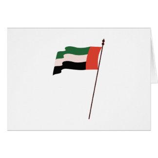 Dubai Flag Card