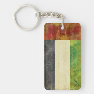 Dubai Flag Key Chain Souvenir