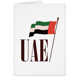 Dubai Flag UAE Card