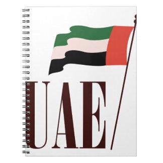 Dubai Flag UAE Notebooks