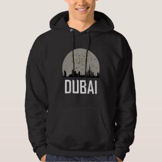 Dubai Full Moon Skyline Hoodie