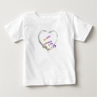 Dubai Heart, world city Baby T-Shirt