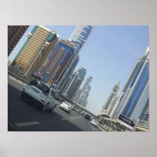Dubai High, UAE Poster