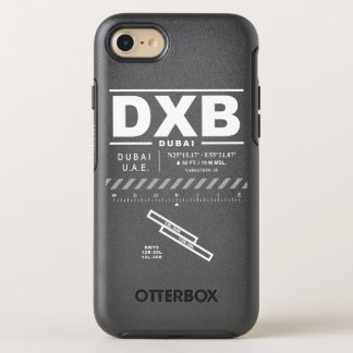 Dubai International Airport DXB iPhone Case