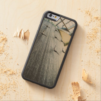 Dubai Mall water statues Carved Maple iPhone 6 Bumper Case