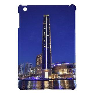 Dubai Marina architecture at night Case For The iPad Mini