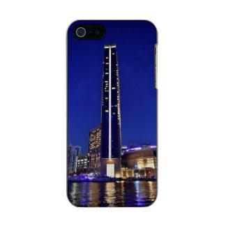 Dubai Marina architecture at night Incipio Feather® Shine iPhone 5 Case