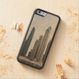 Dubai Marina architecture Carved Maple iPhone 6 Bumper Case