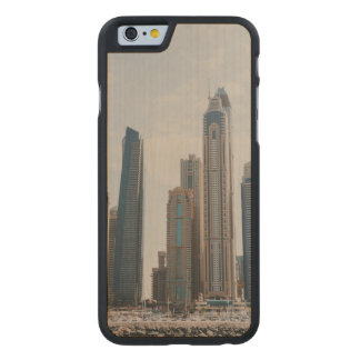 Dubai Marina architecture Carved Maple iPhone 6 Case