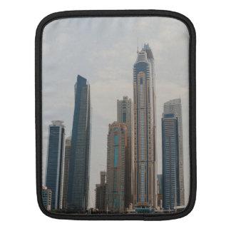 Dubai Marina architecture iPad Sleeve