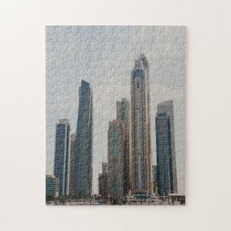 Dubai Marina architecture Jigsaw Puzzle