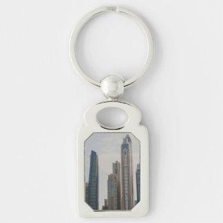 Dubai Marina architecture Keychain