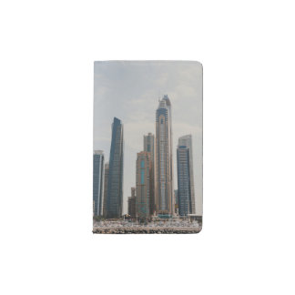 Dubai Marina architecture Pocket Moleskine Notebook