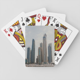 Dubai Marina architecture Poker Deck