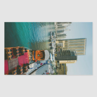 Dubai Marina Pier 7 Sticker