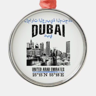 Dubai Metal Ornament