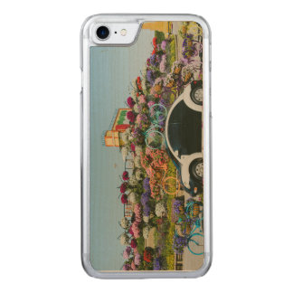Dubai Miracle Garden car Carved iPhone 7 Case