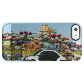 Dubai Miracle Garden car Clear iPhone SE/5/5s Case