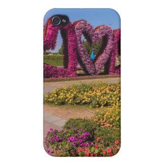 Dubai Miracle Garden flower hearts iPhone 4/4S Case
