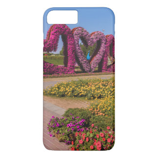 Dubai Miracle Garden flower hearts iPhone 7 Plus Case