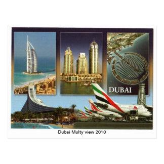 Dubai Multy View 2010 Postcard