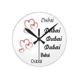 Dubai Round Clock
