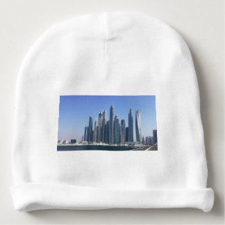 Dubai Sky Line Baby Beanie