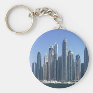 Dubai Sky Line Keychain