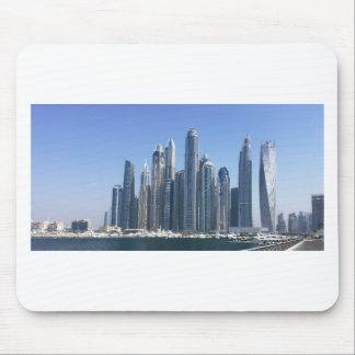 Dubai Sky Line Mouse Pad